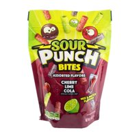 Sour Punch Cherry, Lime, & Cola, 9oz Standup Bag