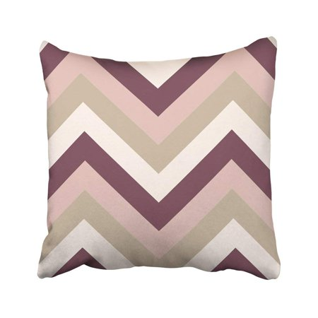 Brown Framed Case Wall (ARTJIA Gray Striped Zigzagging Zigzag Line Stripy Geometric Brown Maroon Beige Olive Colored Tan Pillowcase 18x18)