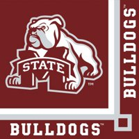 240 NCAA Mississippi State Bulldogs 2-Ply Tailgating Party Beverage Napkins
