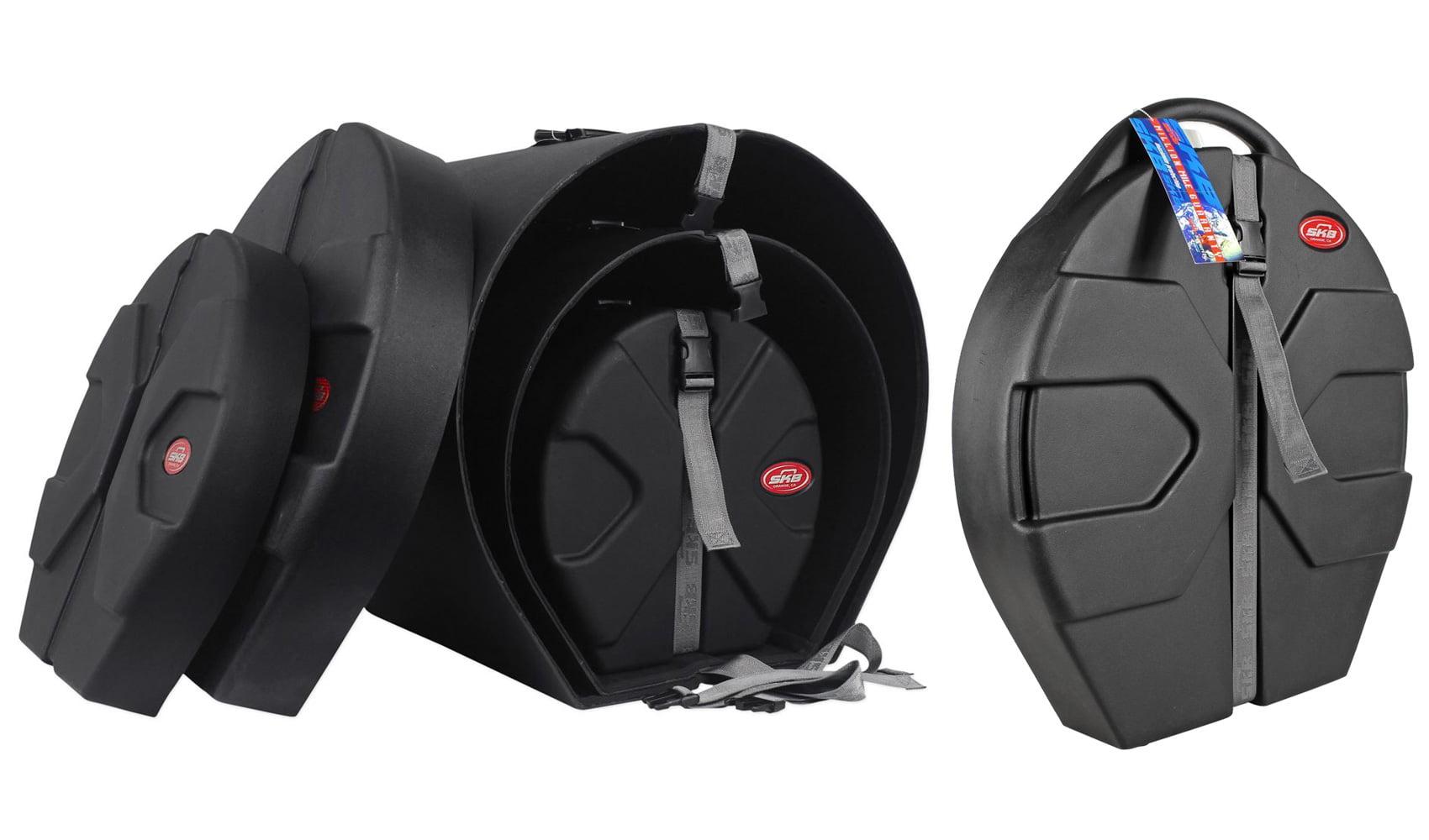 SKB 1SKB-DRP3 Includes D1620 D1012 D1616 Drum Cases+SKB Cymbal Vault Hard Case by SKB