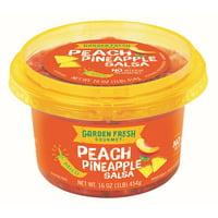 Garden Fresh Gourmet Peach Pineapple Salsa - Mild, 16 oz.