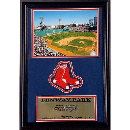 MLB Fenway Park Patch Frame, 12x18