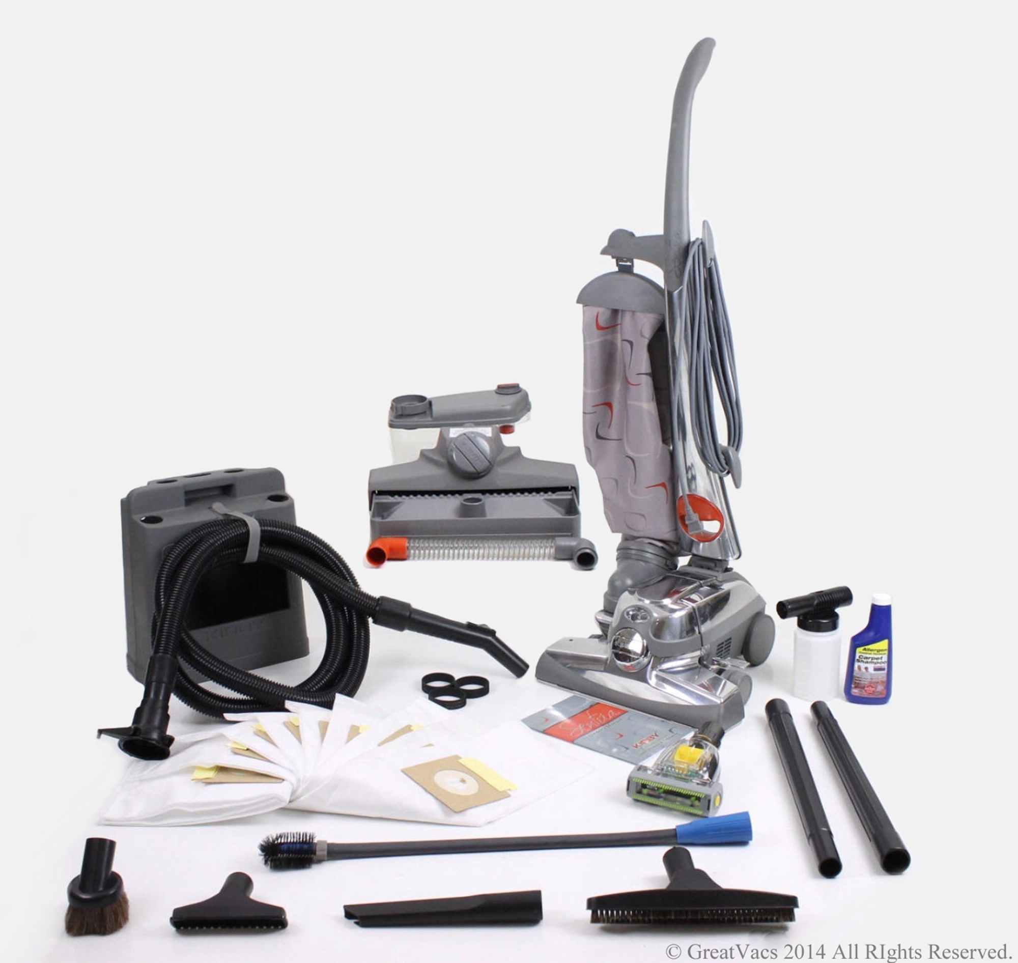 Reconditioned Kirby Sentria Vacuum loaded with new tools, turbo brush, bags & 5 Year Warranty