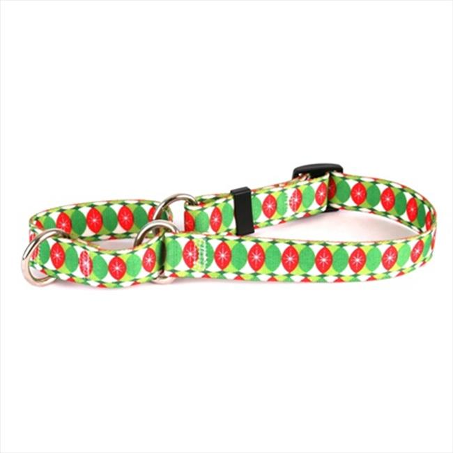 Yellow Dog Design Christmas Cheer Martingale Collar