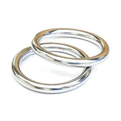 Tigress 88660 316 Stainless Steel Rings - Pair