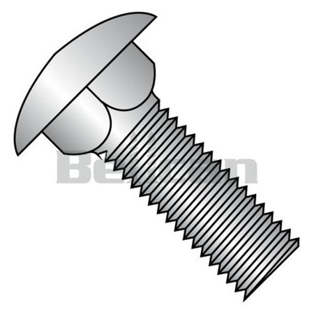 Shorpioen 1010C188 No.10-24 x 0.62 Carriage Bolt - 18-8 Stainless Steel - Box of 100 - image 1 of 1