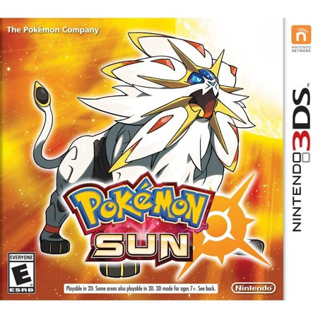 Pokemon Sun - Pre-Owned (Nintendo 3DS) In the Pokemon Sun and Pokemon Moon games, embark on an adventure as a Pokemon Trainer and catch, battle, and trade all-new Pokemon on the tropical islands of the Alola Region. Engage in intense battles, and unleash new powerful moves. Discover and interact with Pokemon while training and connecting with your Pokemon to become the Pokemon Champion!