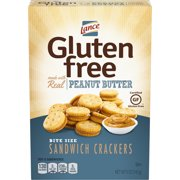 Lance Gluten Free Peanut Butter Bite Sized Sandwich Crackers, 5 Oz