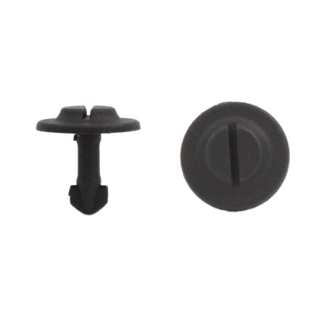 200Pcs 6mm Hole Dia Under Engine Splash Guard Rivet Fastener Clipsfor Passat B5 - image 2 de 2