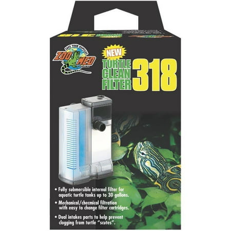 Zoo Med Turtle Clean 318 Submersible - Turtle Supplies