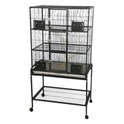 A and E Cage Co. 3 Level Animal Cage