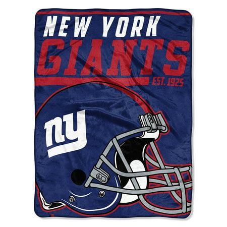 "NFL New York Giants ""40-Yard Dash"" 46""x 60"" Micro Raschel Throw"