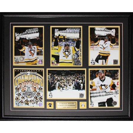 2017 Pittsburgh Penguins Stanley Cup Crosby Malkin Kessel Murray 6 Photo NHL Hockey Frame - image 1 de 1