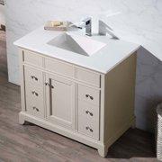 Stufurhome Erin 37'' Single Bathroom Vanity Set