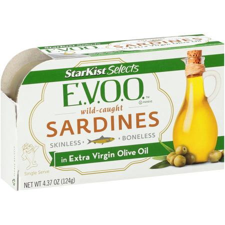 StarKist Gourmet Selects Sardines, Skinless Boneless in Extra Virgin ...