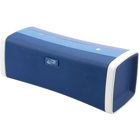 iLive ISB394BU Bluetooth Speaker with USB Port, Blue