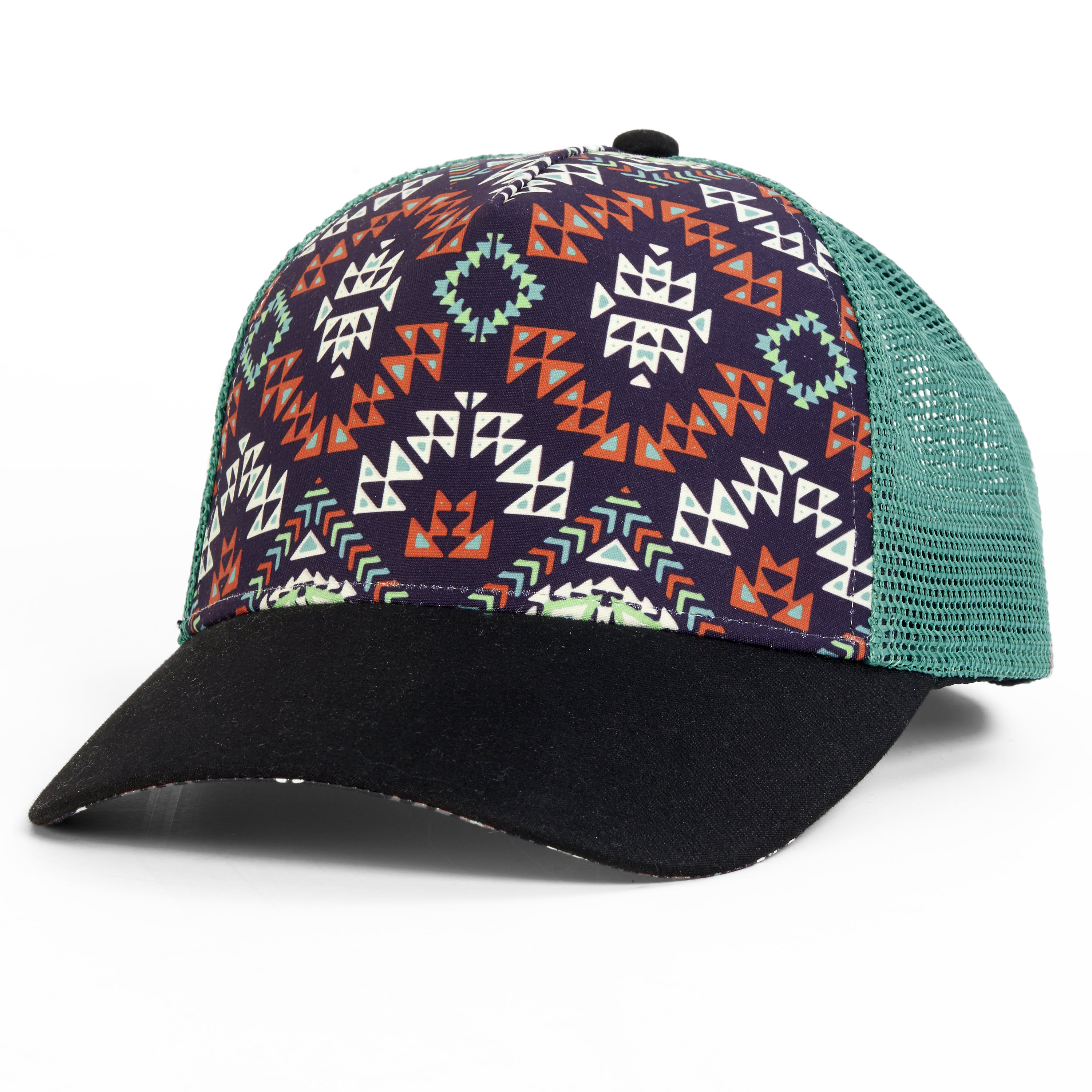 Turtle Fur Tribal Trucker Hat