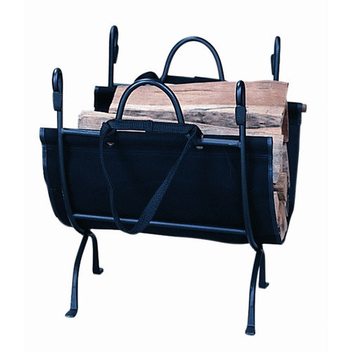 Uniflame Corporation Deluxe Wrought Iron Log Holder