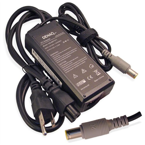 DENAQ 20V 3.25A 7.7mm-5.5mm AC Adapter for IBM