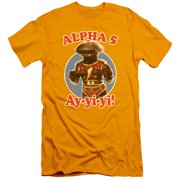 Mighty Morphin Power Rangers Alpha 5 Mens Slim Fit Shirt
