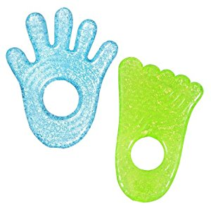 Munchkin Fun Ice Chewy Teether, 2 Pack