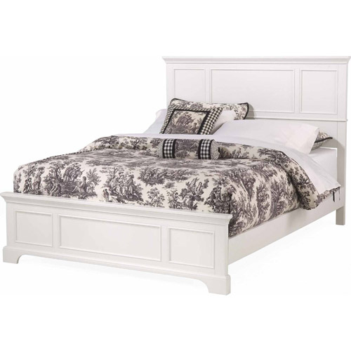 Home Styles Naples Queen Bed, White