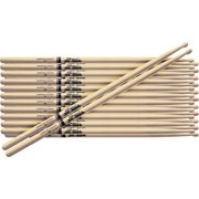 Promark 12-Pair American Hickory Drumsticks Wood 5A