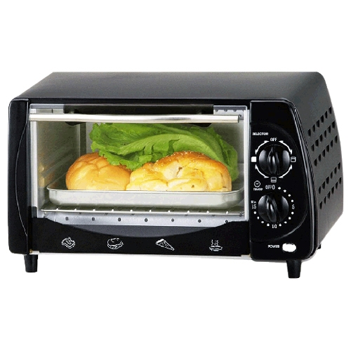 Brentwood Toaster Oven - 0.30 ft³ Capacity - Toast, Broil...