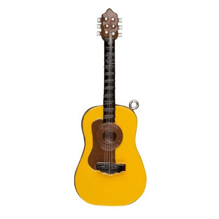 Acoustic Guitar Personalized Christmas Ornament DO-IT-YOURSELF - Guitar Ornaments