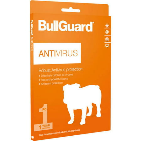 Bullguard Antivirus  1 Year  1 Pc