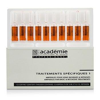 Academie Ampoules Rougeurs Diffuses Calms Redness (Diffusing Serum)