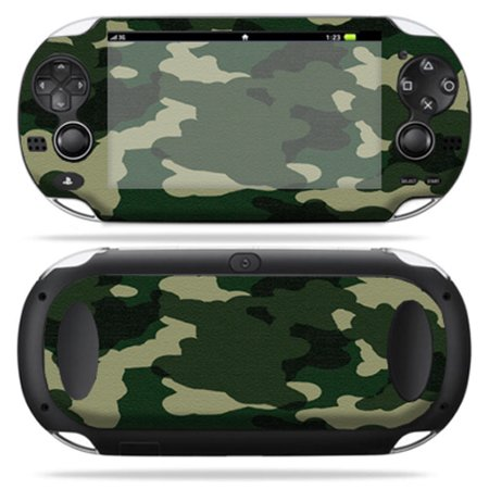 Mightyskins Protective Vinyl Skin Decal Cover for PS Vita PSVITA Playstation Vita Portable wrap sticker skins  Blue