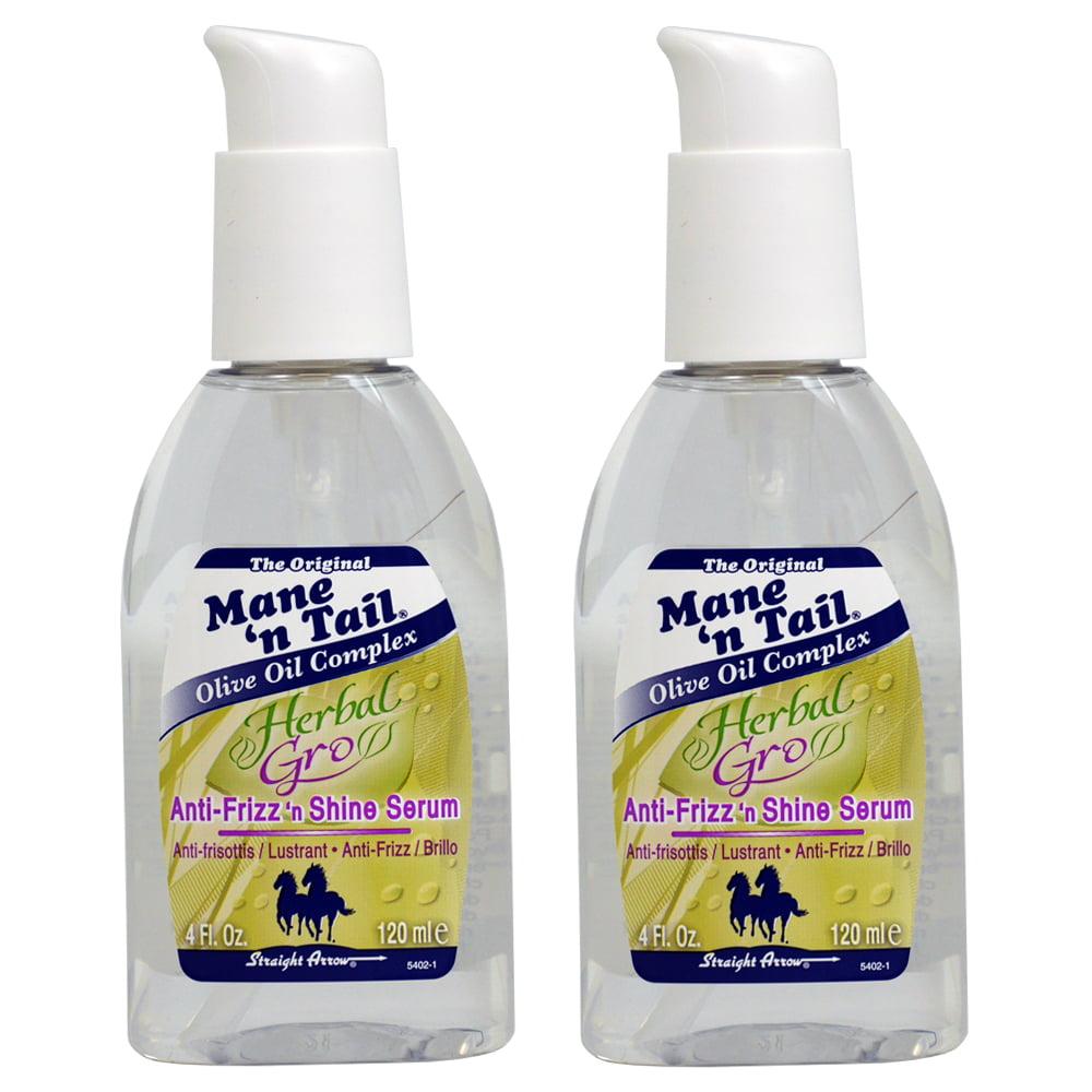 Mane N Tail Herbal Gro Anti-Frizz 'N' Shine Serum 4oz (2 Pack)