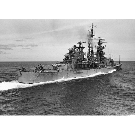 LAMINATED POSTER The U.S. Navy guided missile cruiser USS Oklahoma City (CLG-5) underway in the South China Sea on 13 Poster Print 24 x 36](Halloween Fun In Oklahoma City)