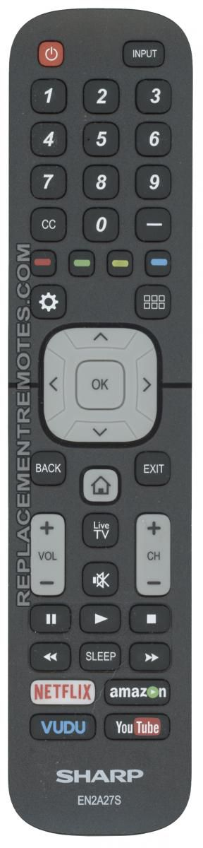 New Sharp Remote Control RRMCGA935WJSA Factory Original