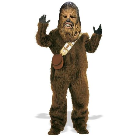 Costumes For All Occasions Ru82019Lg Chewbacca Dlx Child Large