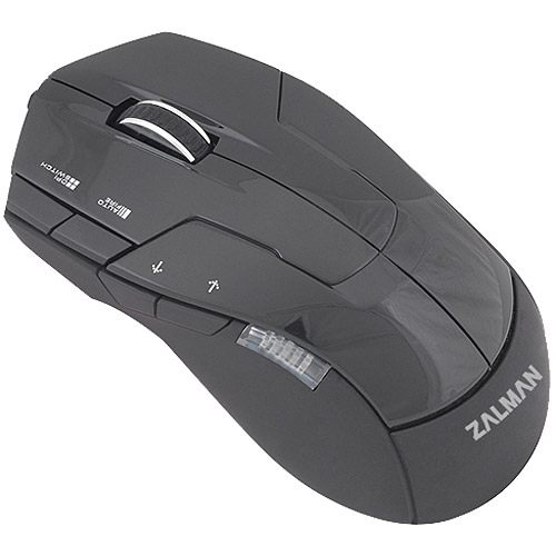 Zalman USA USB Gaming Mouse, Black