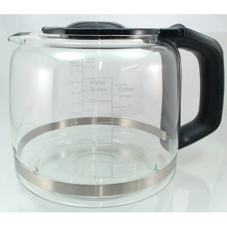 KCM22GC, 14 cup Glass Carafe fits Whirlpool KitchenAid Coffee Maker