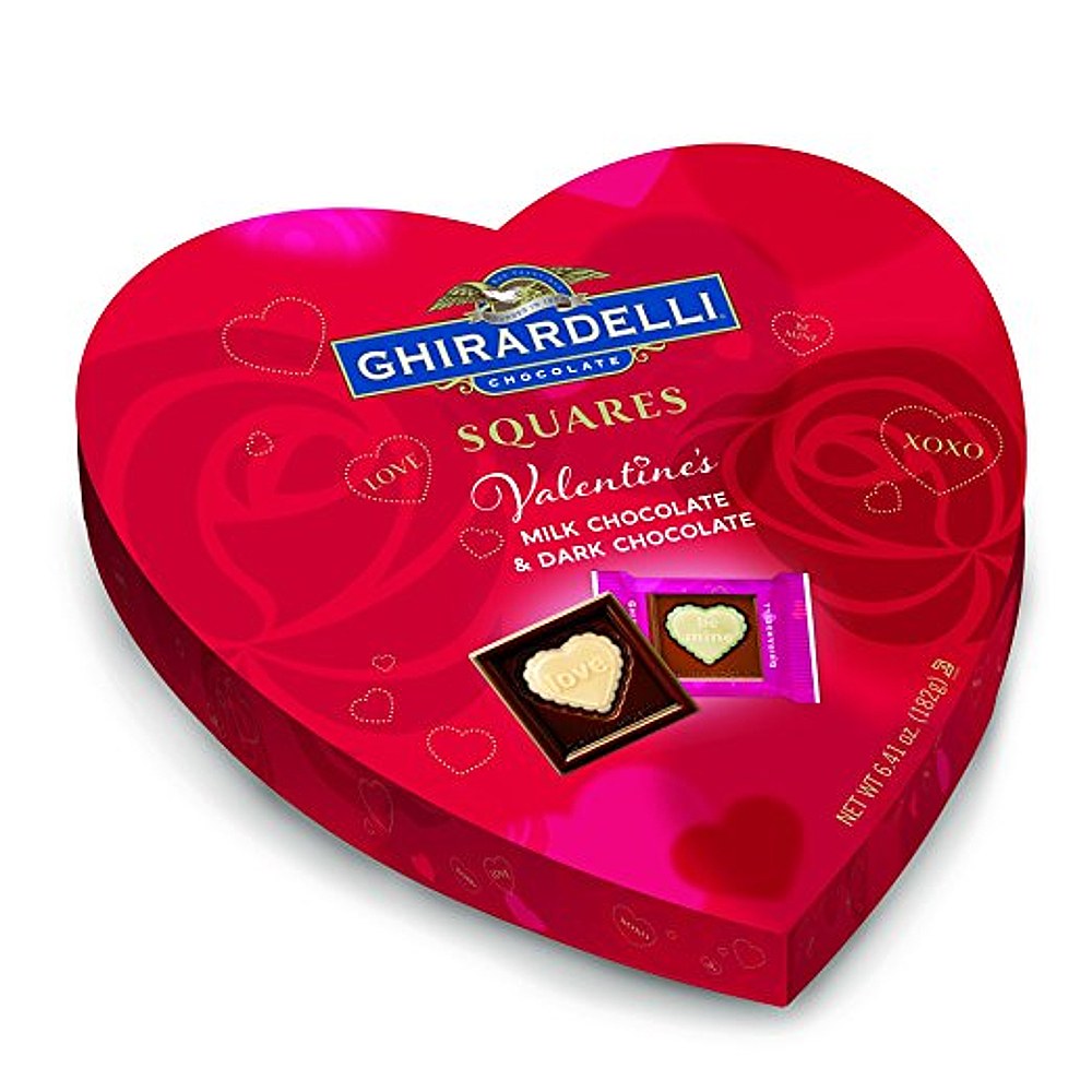 Ghirardelli Milk Chocolate And Dark Chocolate Valentine S Day