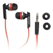 Escape HP-3393 Earphones Black and Red