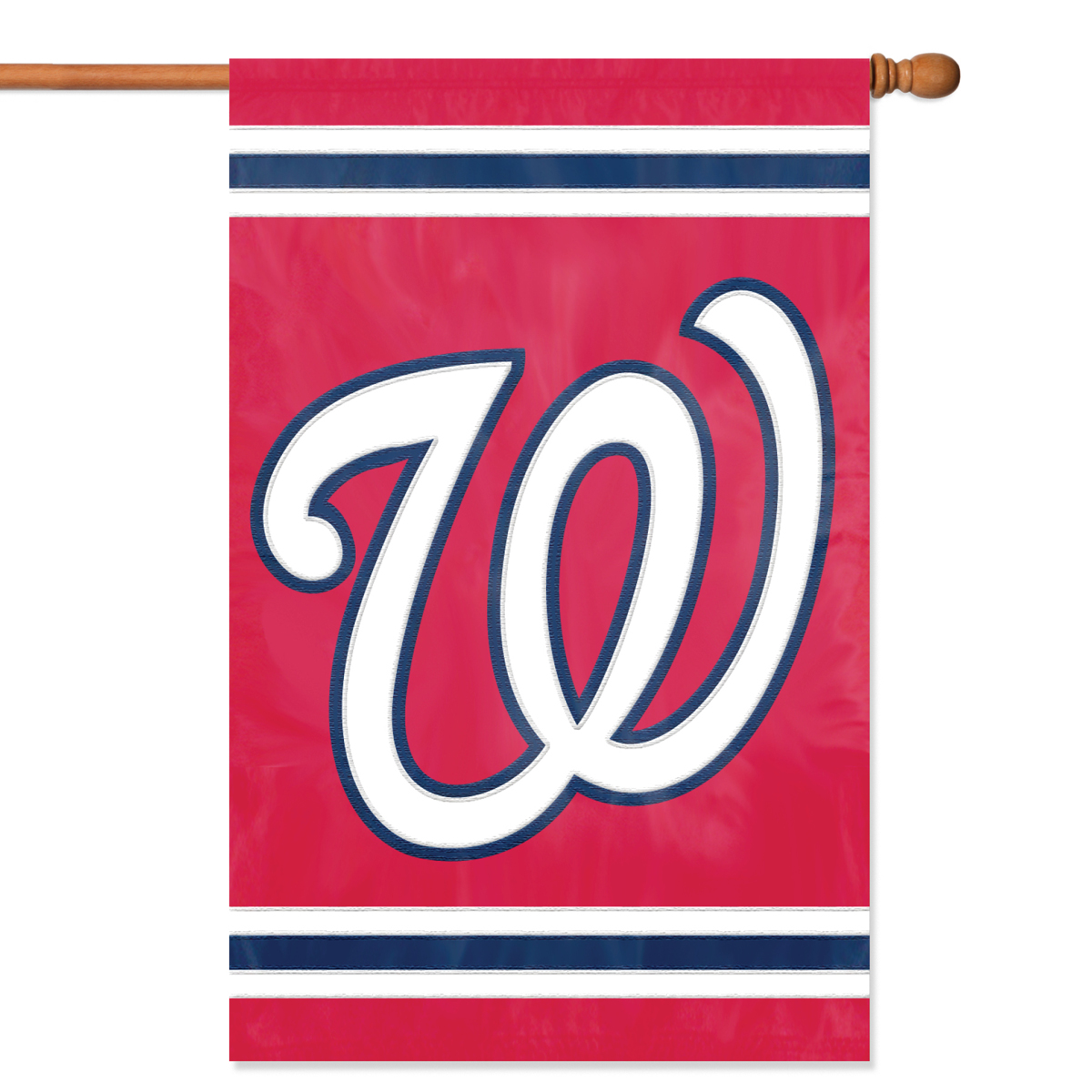 Nationals Applique Banner Flag