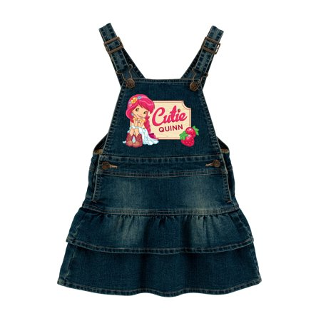 Personalized Strawberry Shortcake Country Cutie Toddler Denim Dress