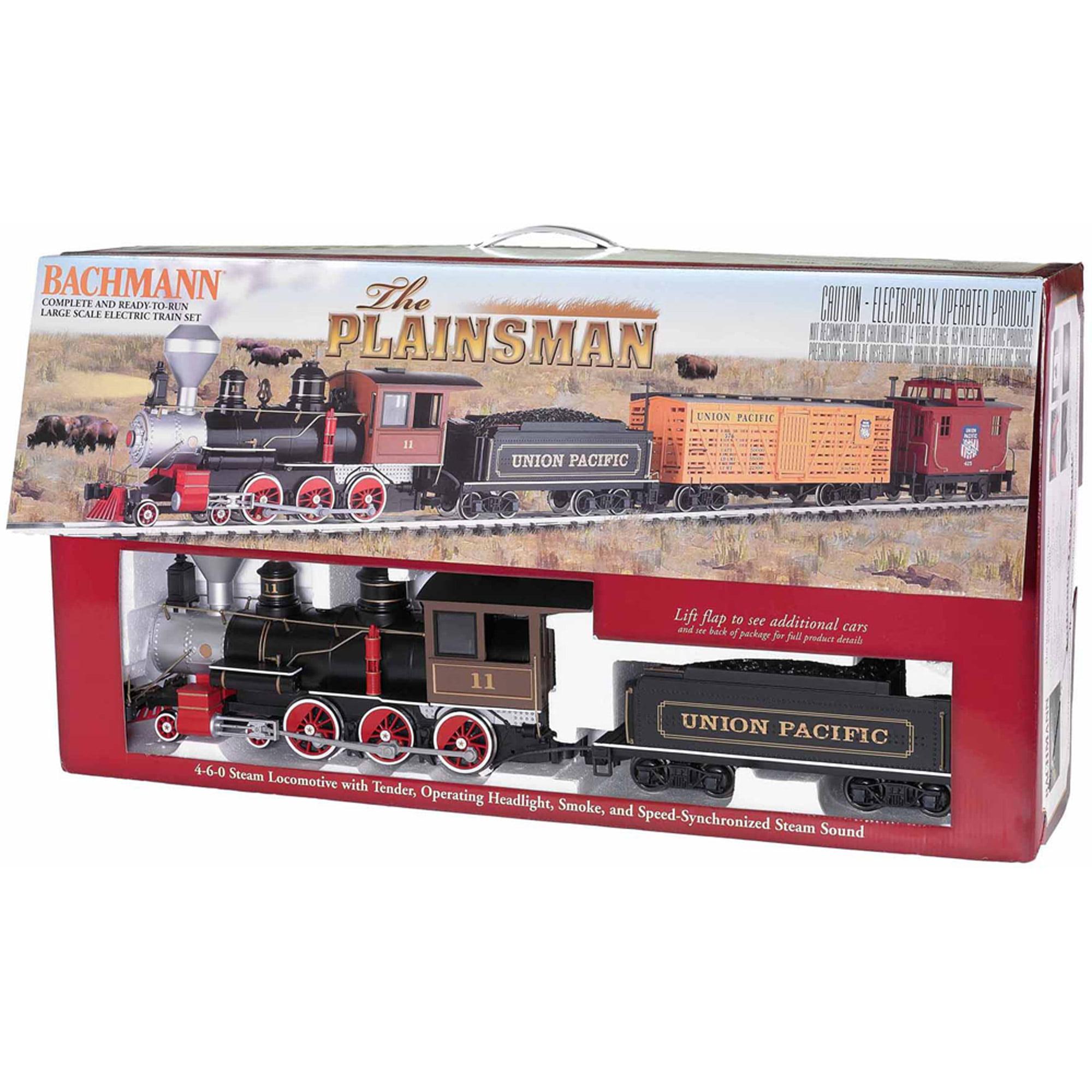 "Bachmann Trains The Plainsman , Large ""G"" Scale Ready-to-Run Electric Train Set"