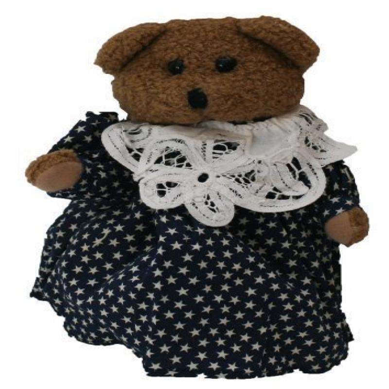 Mama Plush Teddy Bear 9 Inches Stuffed Animal by