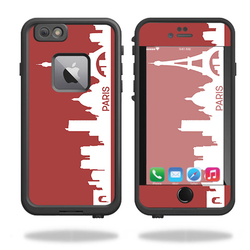 Skin For Lifeproof Fre iPhone 6 Plus / 6S Plus Case – Paris | MightySkins Protective, Durable, and Unique Vinyl Decal wrap cover | Easy To Apply, Remove, and Change Styles | Made in the USA