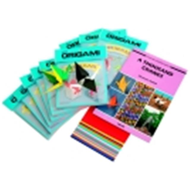 Aitoh Origami Paper Crane Classroom Pack - Assorted Color, Pack 1000