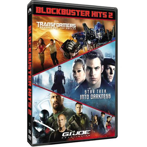 Blockbuster Hits, 2 - Transformers: Revenge Of The Fallen / Star Trek: Into Darkness / G.I. Joe: Retaliation