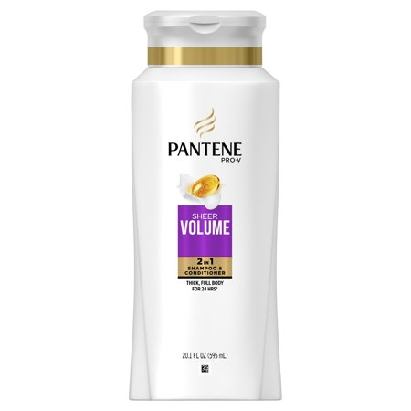 Pantene Pro-V Sheer Volume 2 in 1 Shampoo & Conditioner, 20.1 fl