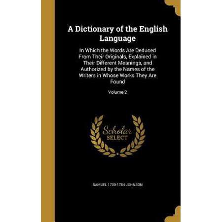 A Dictionary of the English Language : In Which the Words Are Deduced from Their Originals, Explained in Their Different Meanings, and Authorized by the Names of the Writers in Whose Works They Are Found; Volume 2](Different Minion Names)