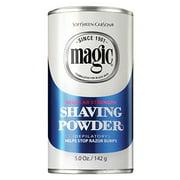 Magie rasage Powder Blue Can - 5 oz
